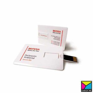 Card Type USB Pen Drive Printing