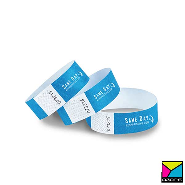 Security Wrist Band Printing for Party Events