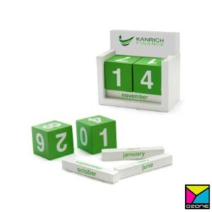 Wooden Active Calendar Set