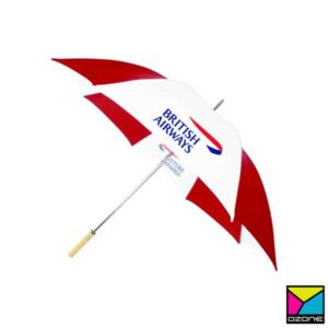 Golf Umbrella Branding with Logo Printing in Sri Lanka