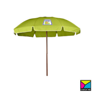 Outdoor Umbrella Branding with Logo Printing in Sri Lanka