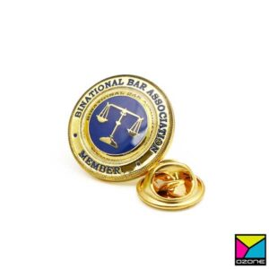 Pin On Lapel Tie Pin Badge