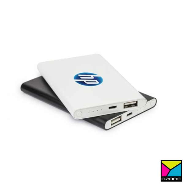Power Bank Branding with logo