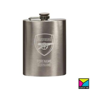 Stainless Hip Bottle Branding